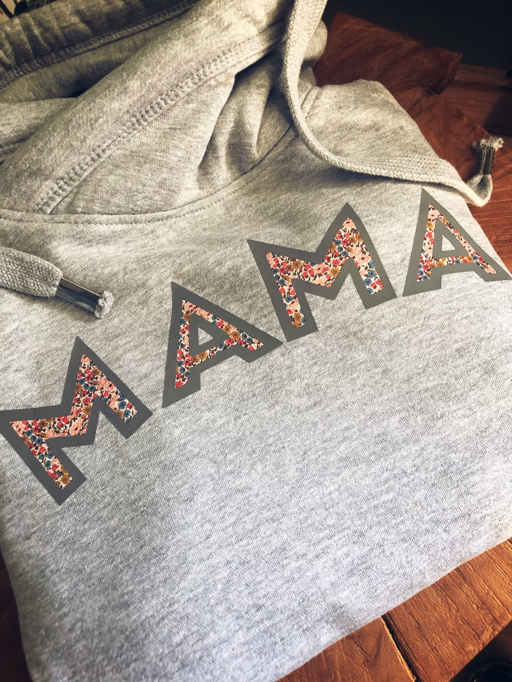 Image of Liberty floral mama crossneck hoodie