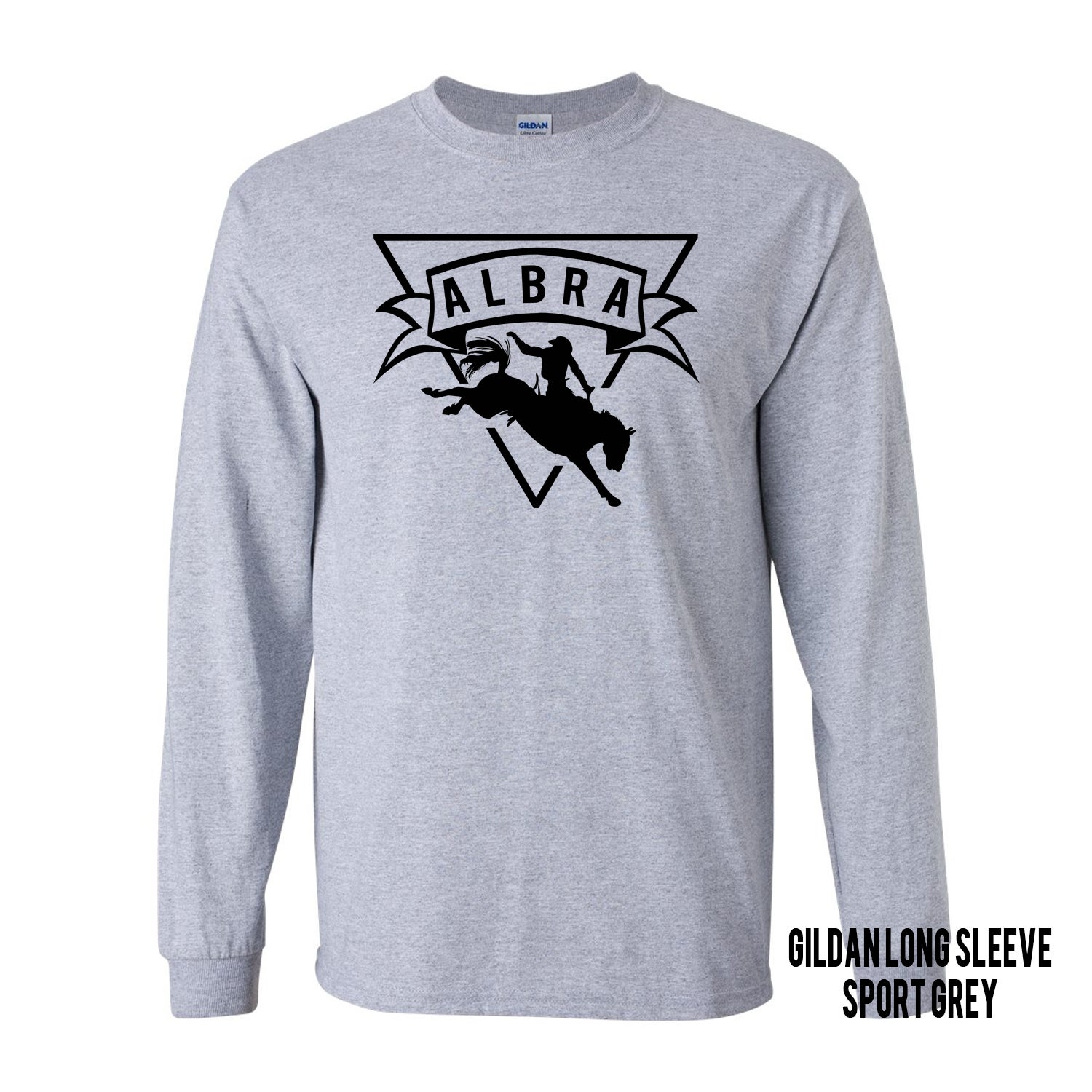 Image of Long Sleeve-Sport Grey