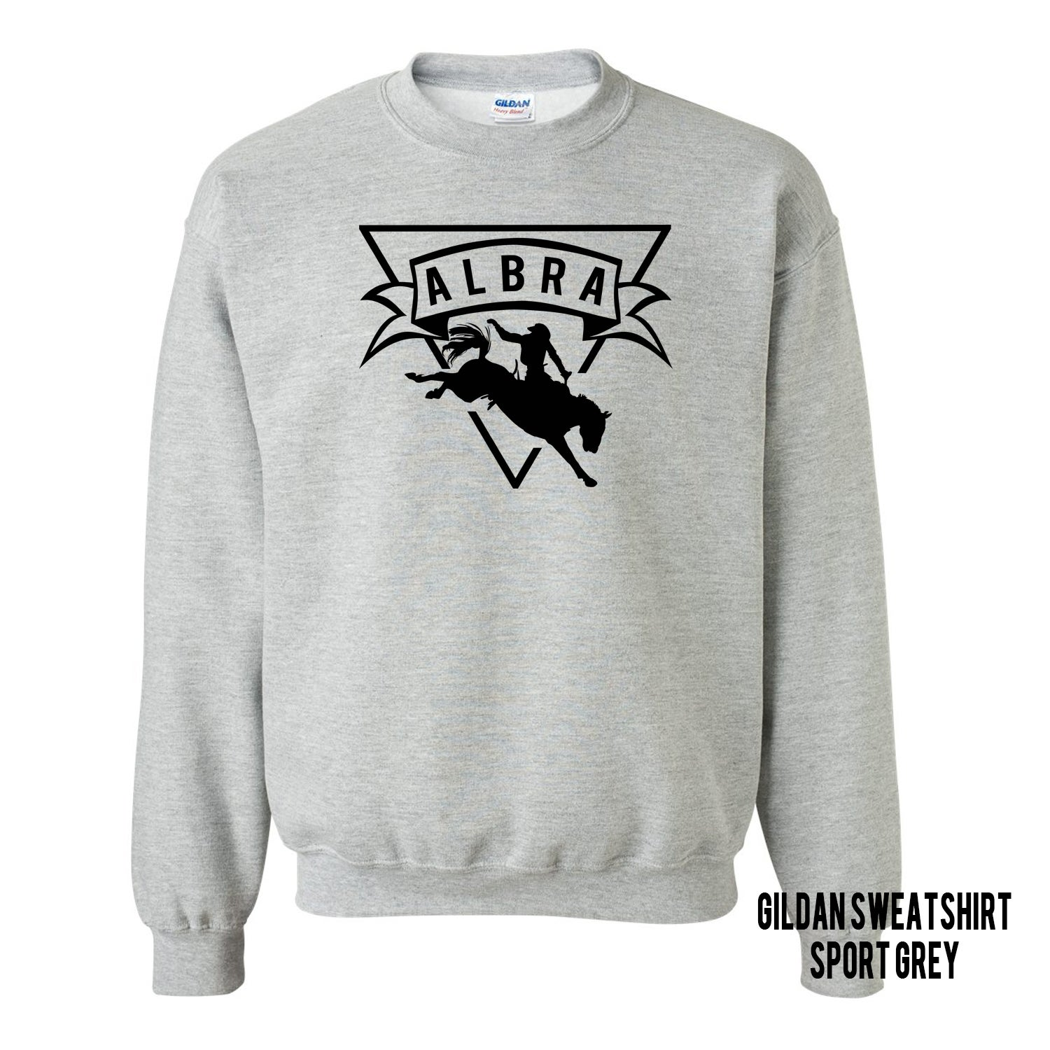 Image of Crewneck Sweatshirt-Sport Grey
