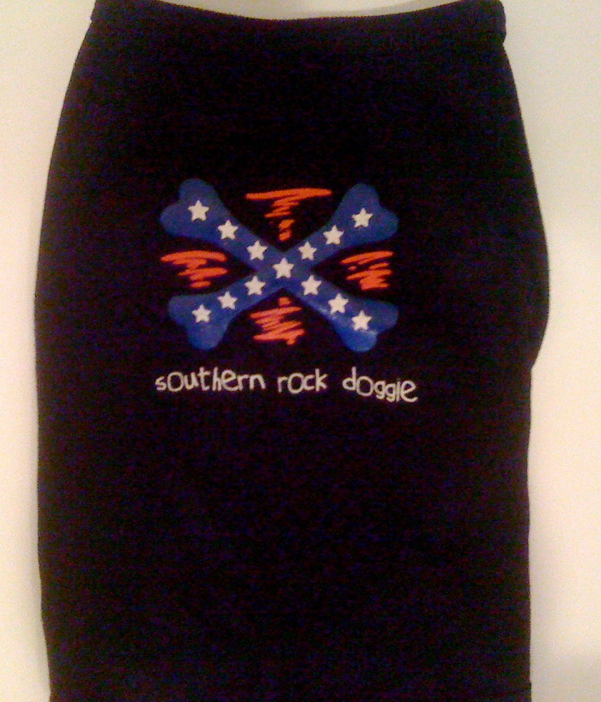 Image of Southern Rock Doggie - Dog Tee
