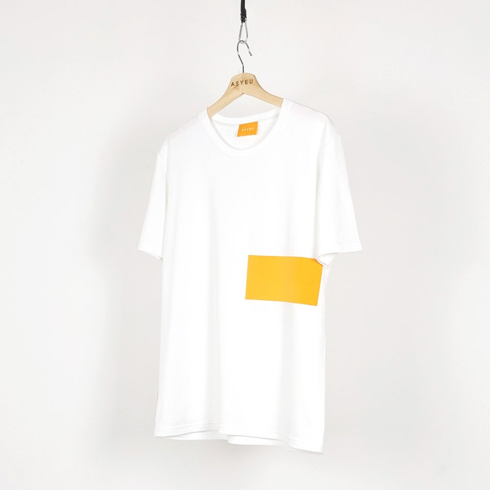 Image of BLOCK TEE - YELLOW
