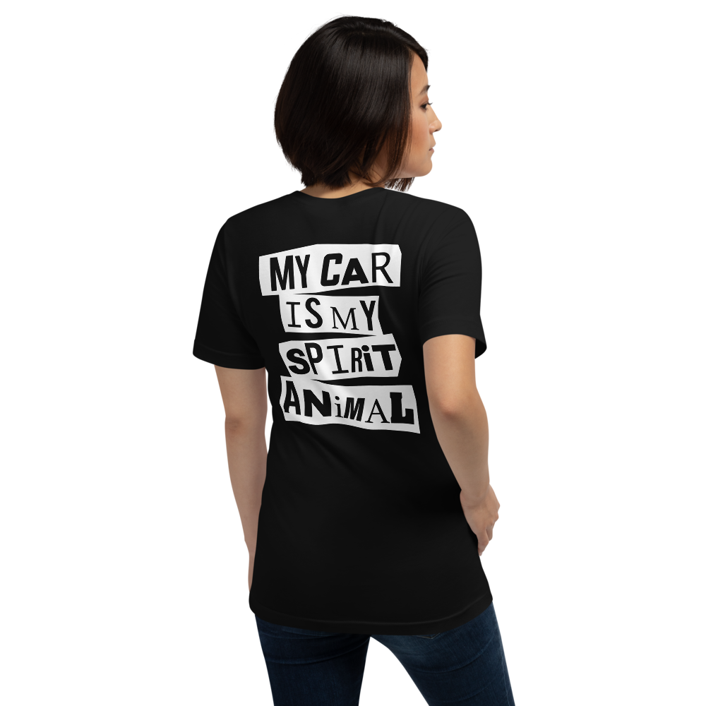 "Image of SOUL LEGACY ""My Car Is My Spirit Animal"" T Shirt"