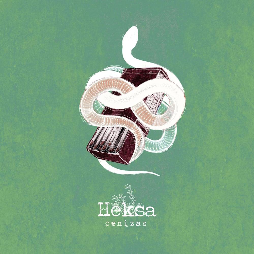 "Image of LADV127 - HEKSA ""cenizas"" LP"