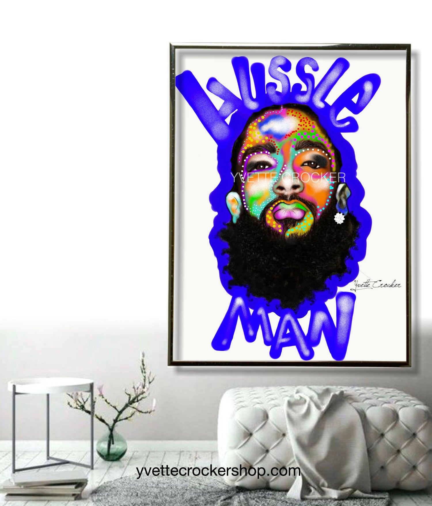 Image of Hussle Man poster