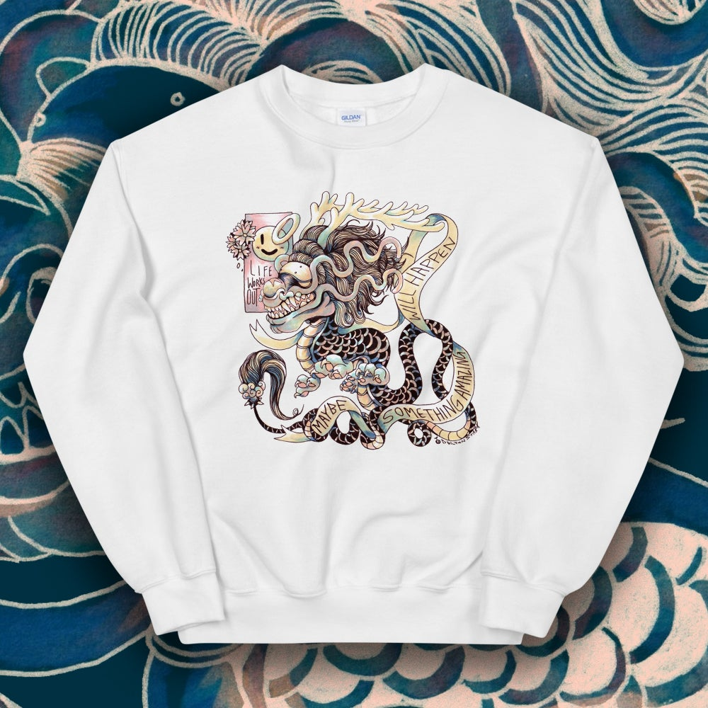 Image of Amazing Dragon Sweater