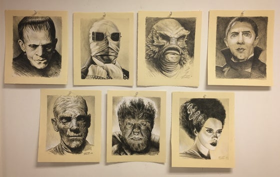 Image of Monster Drawings