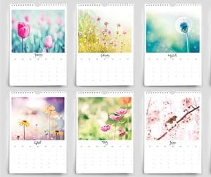 Image of 2020 Botanical floral calendar