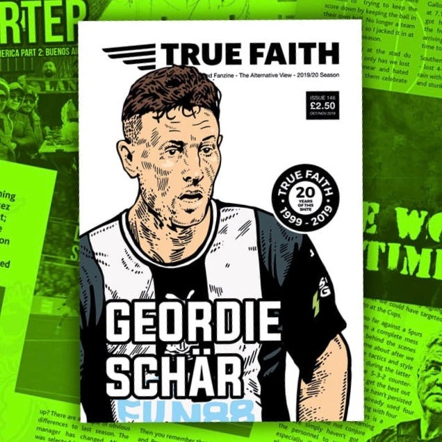 Image of TRUE FAITH ISSUE 146 *DIGITAL VERSION* NEWCASTLE UNITED FANZINE