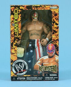 Image of WWE Rey Mysterio Limited Edition JAKKS Action Figure