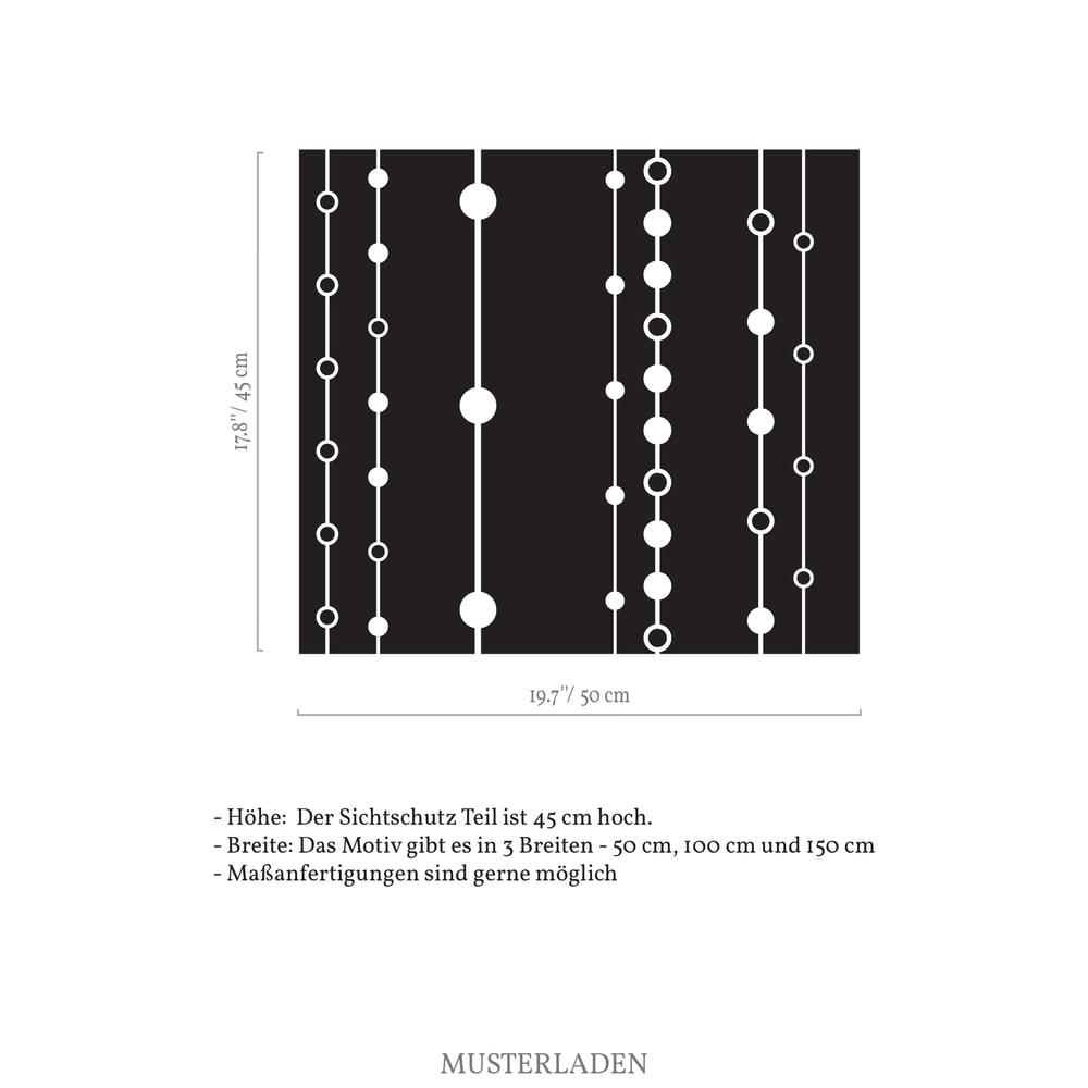 Image of Geometrische Folie Milchglas mit Motiv