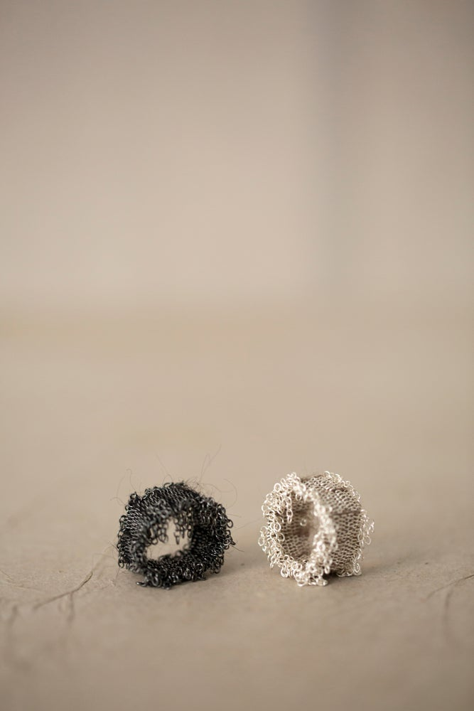 Image of HAND WOVEN RINGS by Stephanie Schneider