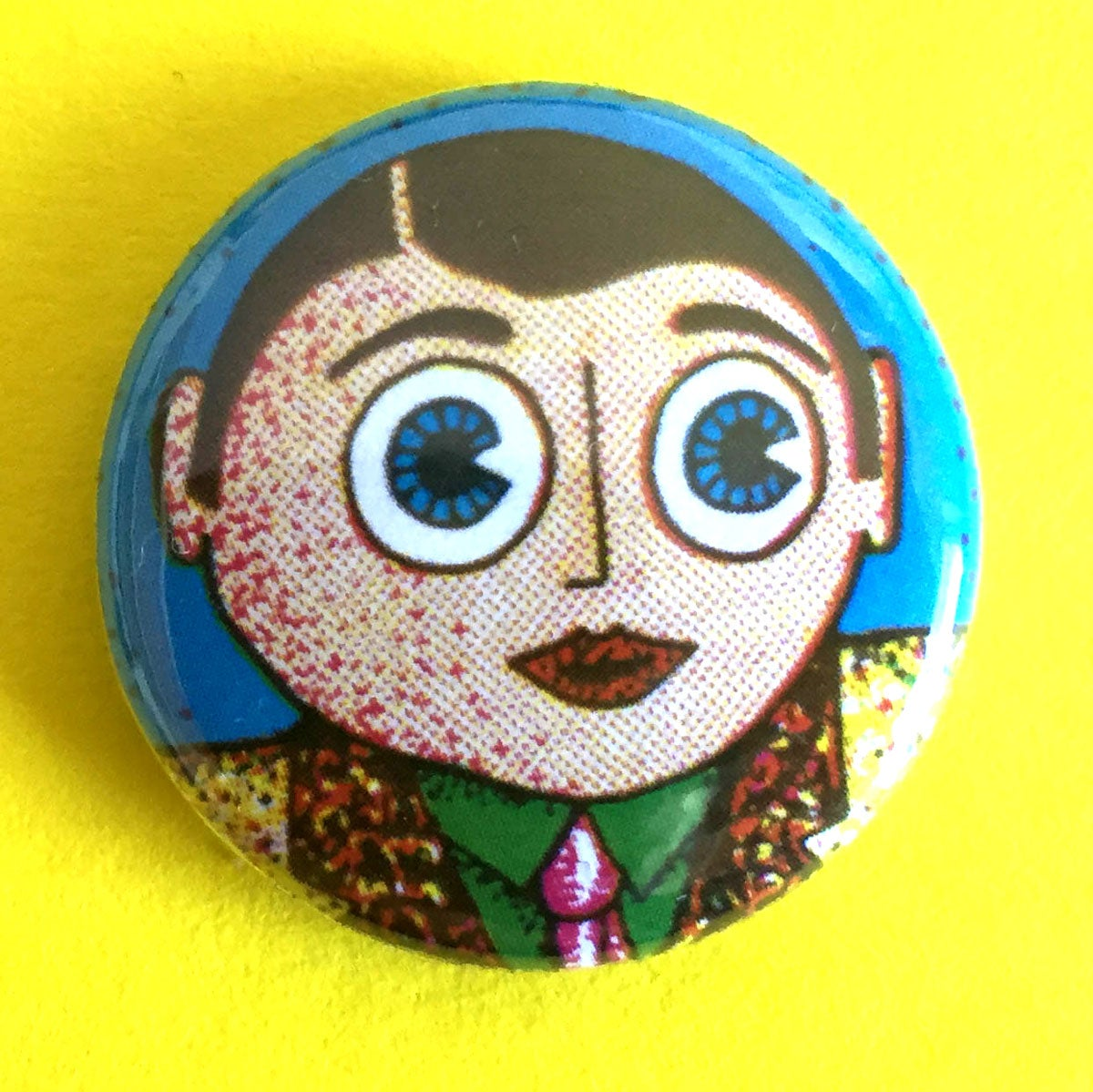 Image of Showbiz Frank 25mm badge