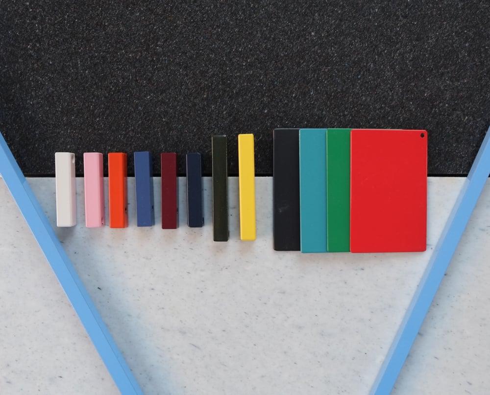 Image of Zigzag trestle legs | 13 Colours