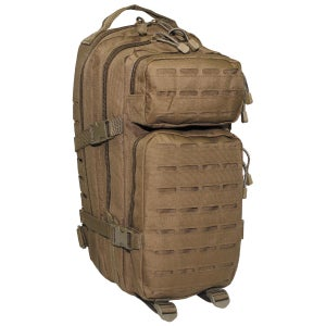 "Image of US Rucksack, Assault I, ""Laser"" coyote tan"