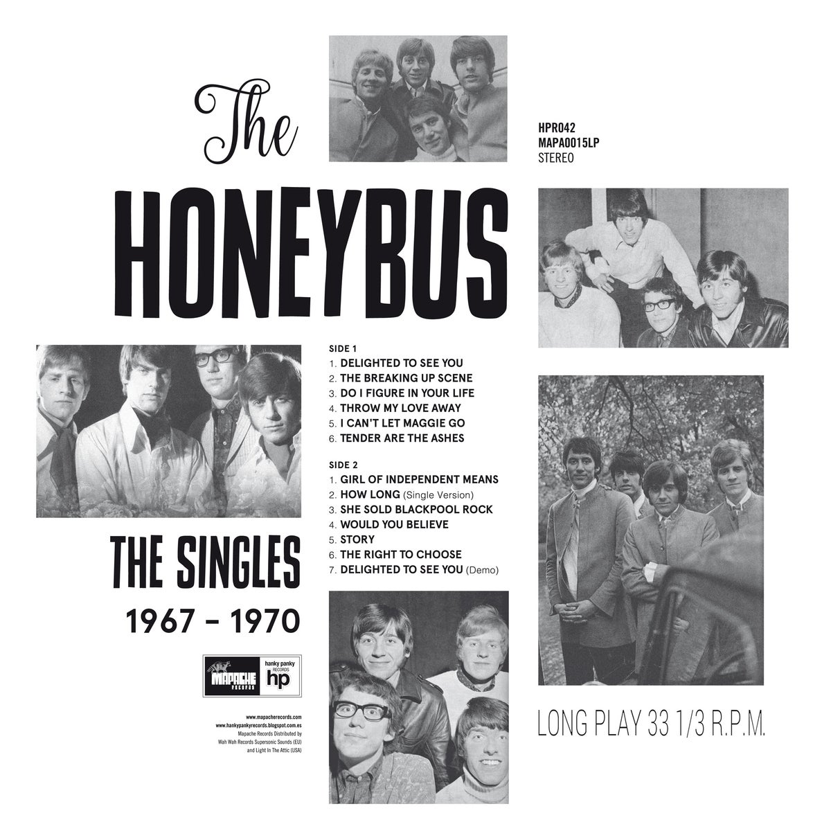 Image of Honeybus - The Singles 1967-1970