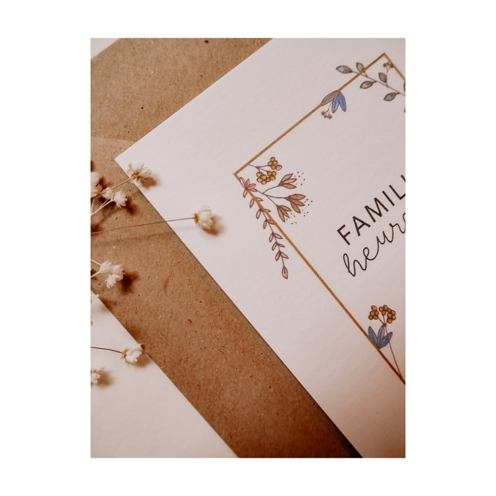 Image of Carte FREDERIC (avec enveloppe)