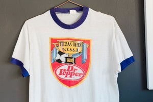 Image of 1983 Dr Pepper Ringer for Texas Open Tee