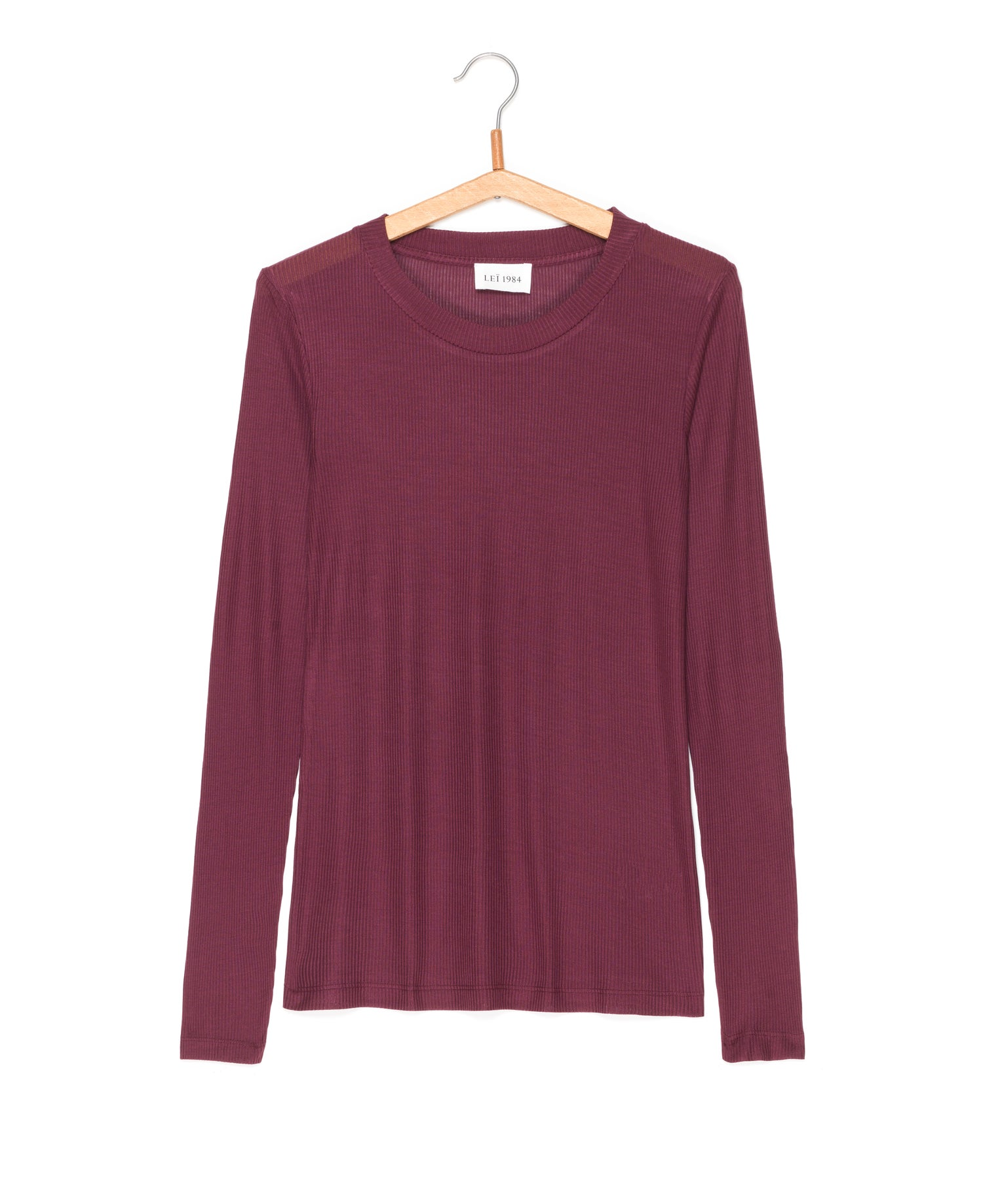 Image of Top manches longues côtes GEORGETTE 55€ -50%