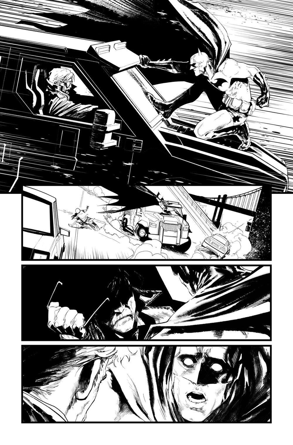 Image of BATMAN/SUPERMAN #3 p.10 ARTIST'S PROOF