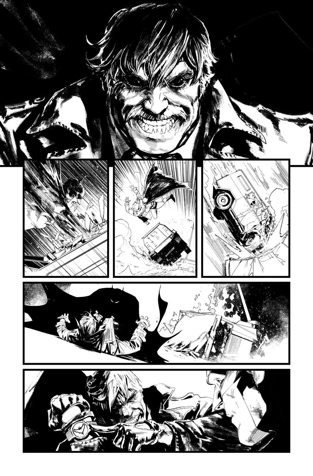 Image of BATMAN/SUPERMAN #3 p.11 ARTIST'S PROOF
