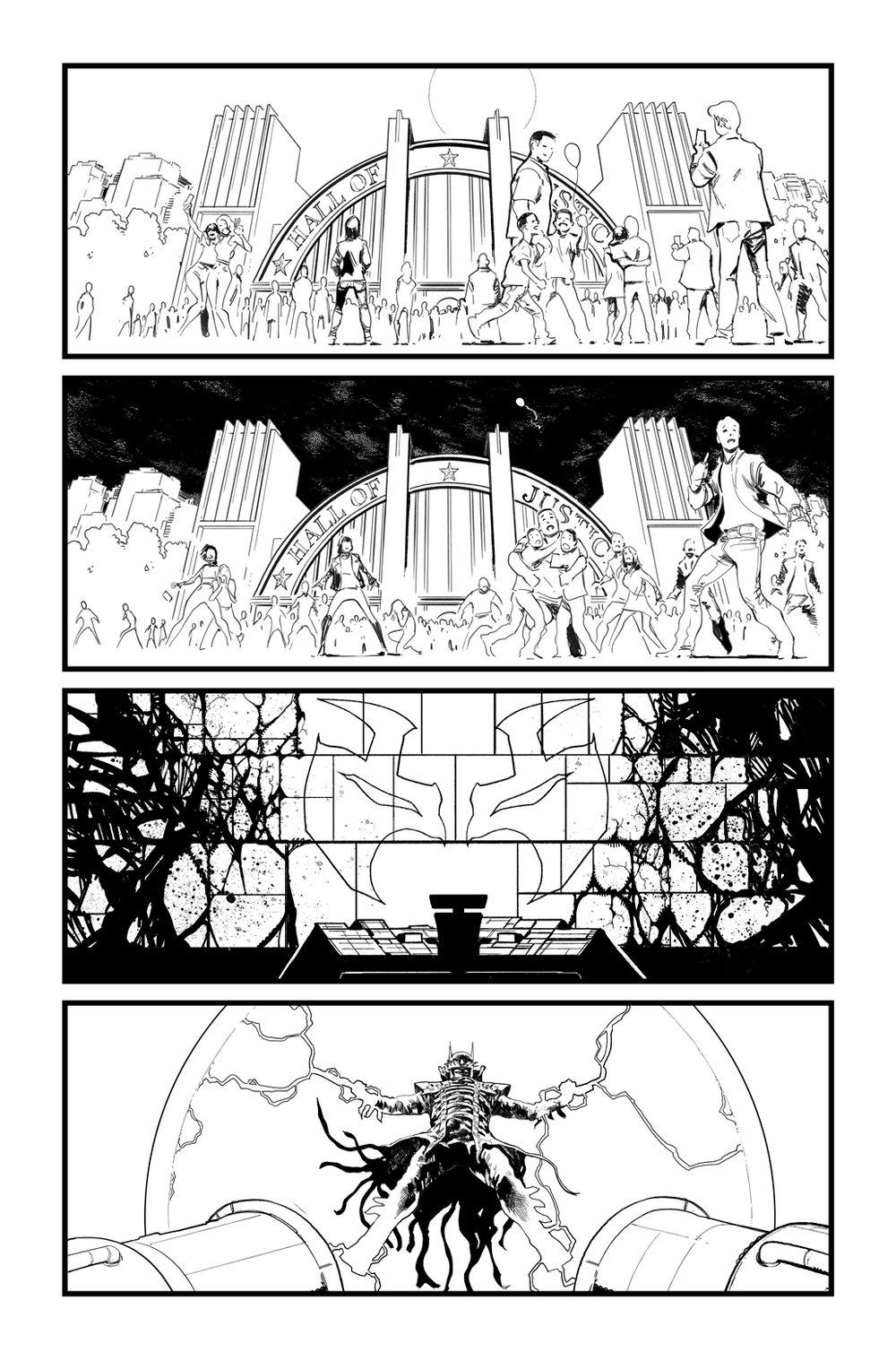 Image of BATMAN/SUPERMAN #3 p.23 ARTIST'S PROOF