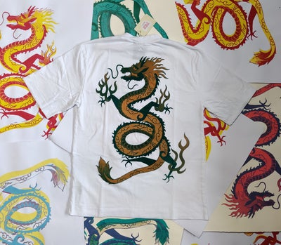 Image of Golden Green Dragon T-shirt