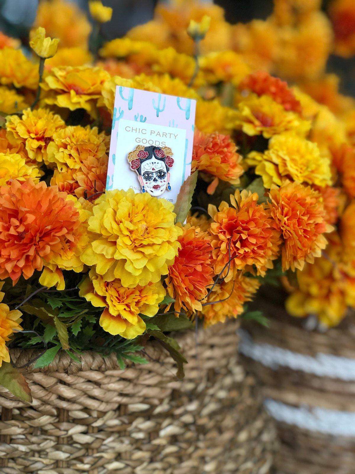 Image of Floral Sugar Skull