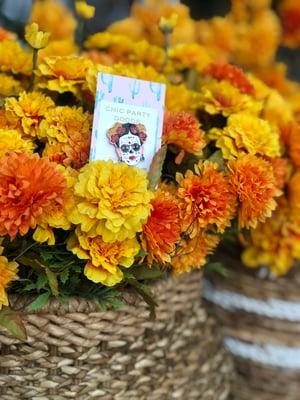 Floral Sugar Skull