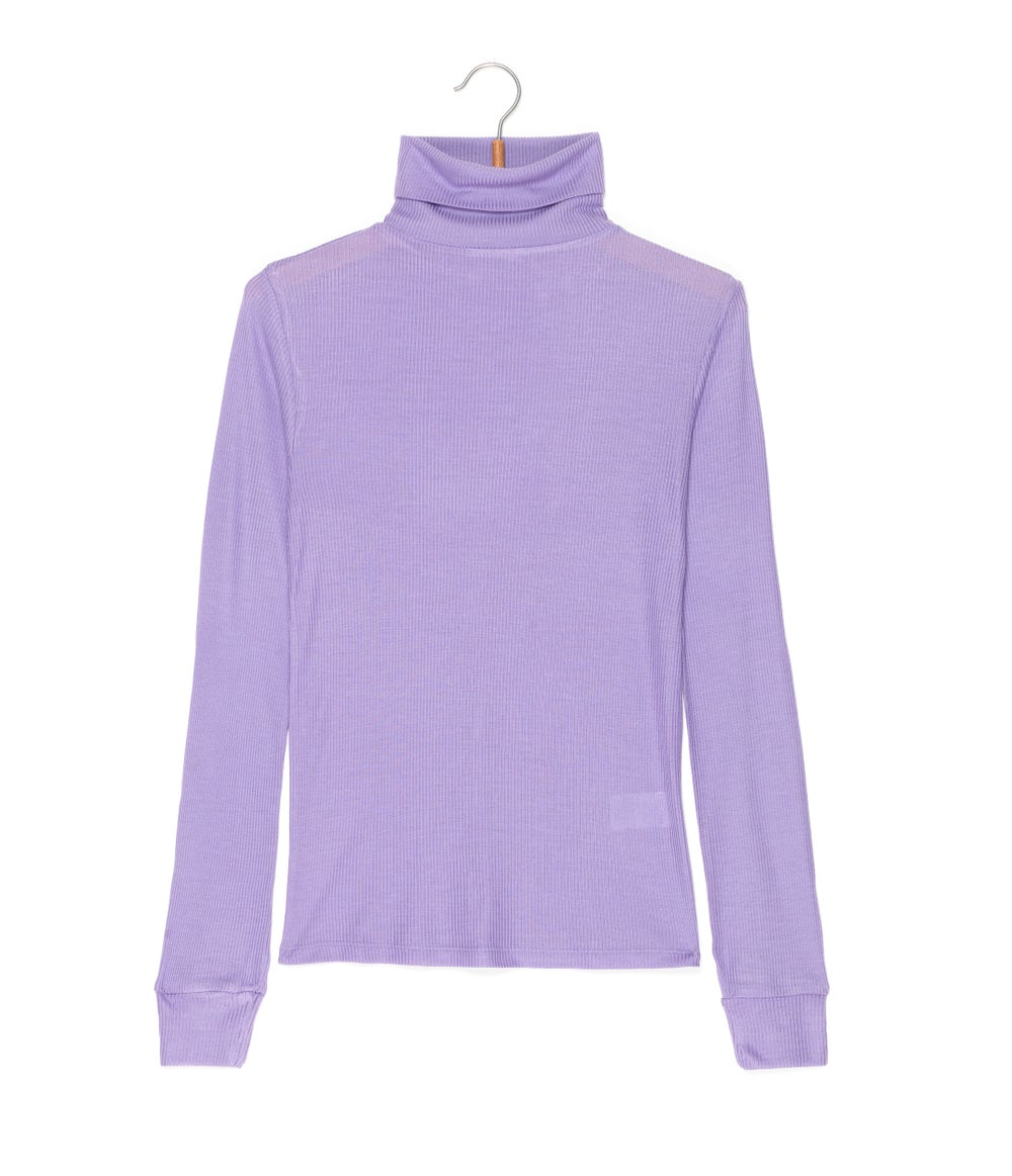 Image of Top col roulé côtes SEVERIN coloris pastels 59€ -50%