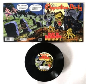 "Image of OPPOSITION PARTY ""Tales To Horrify"" Gatefold 7"" EP"