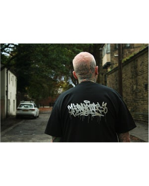 Image of Heavy Goods Chrome Drip Tshirt