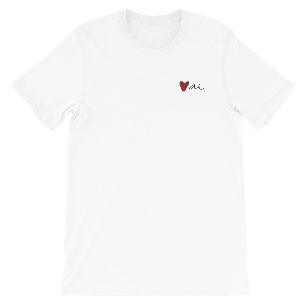 Image of Ai Embroidered Logo T Shirt