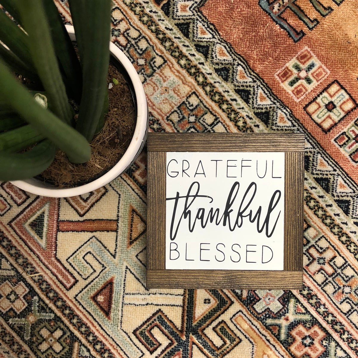 Image of Grateful, Thankful, Blessed small