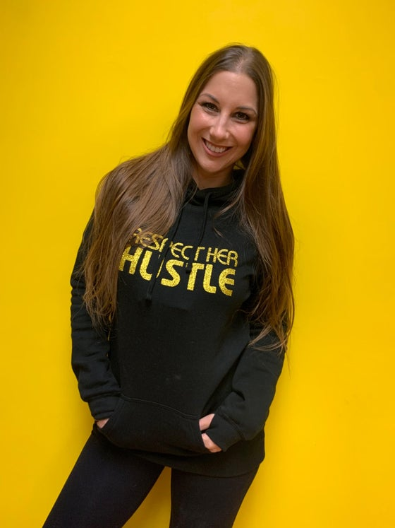 Image of NEW!  Respect Her Hustle Hoodie Dress