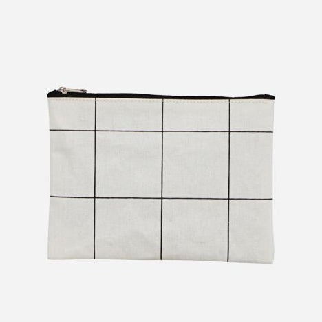 Image of Squares makeup bag