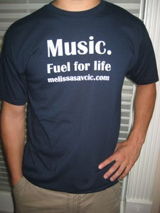 "Image of ""Music. Fuel For Life"" T-shirt"
