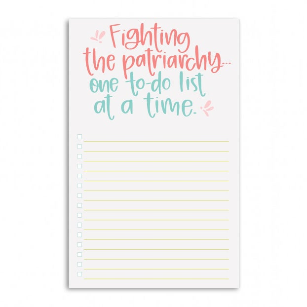 Image of Fighting the Patriarchy Notepad