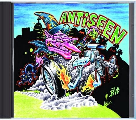 Image of Antiseen/Holley 750 Split CD