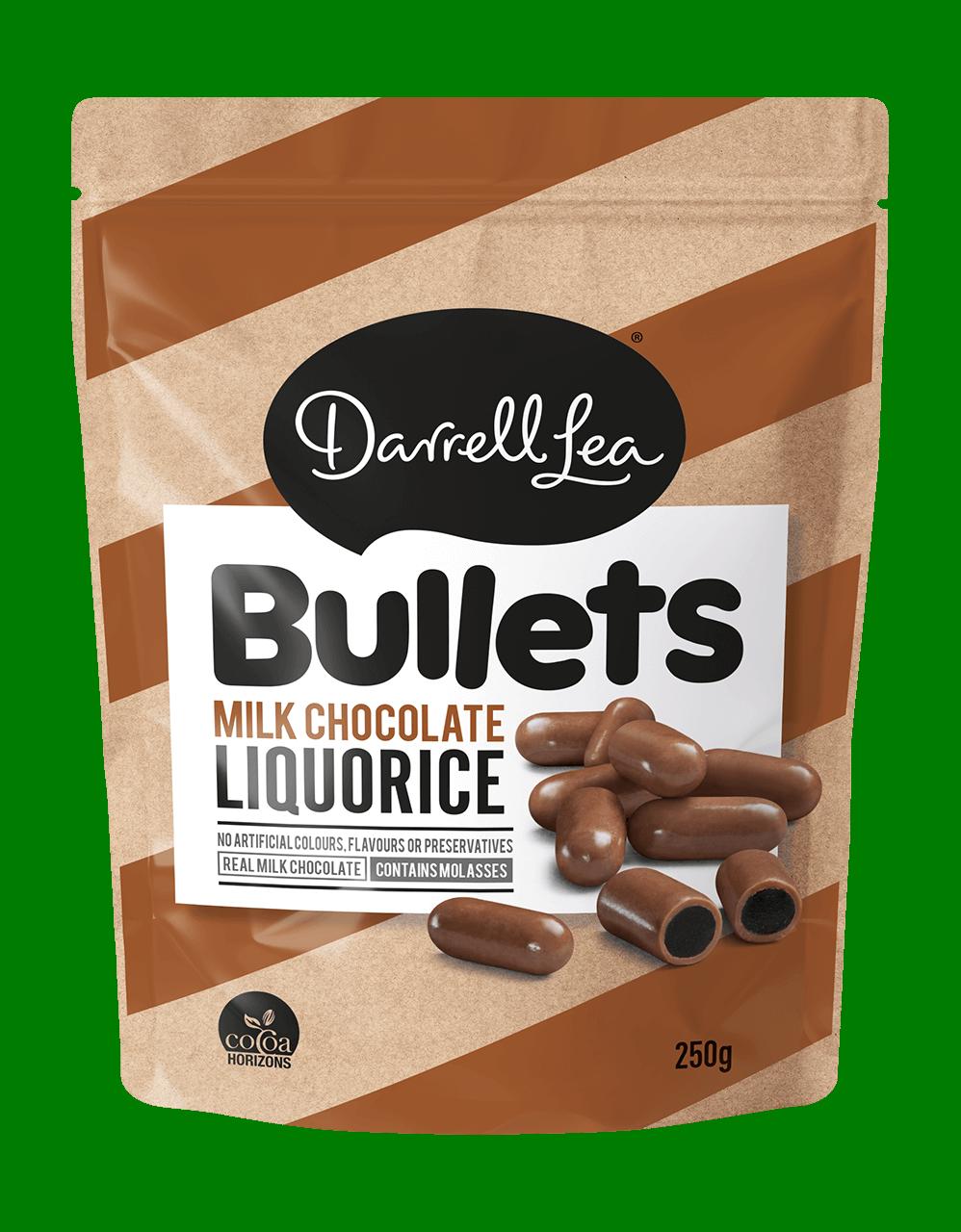Image of Bullets Liquorice Milk 250G
