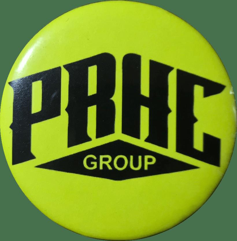 Image of PRHC pins Diferent Colors