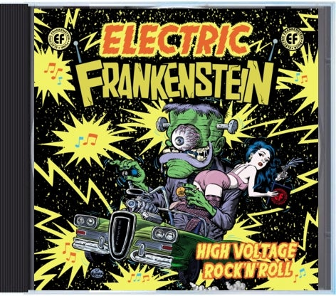 "Image of Electric Frankenstein ""High Voltage Rock n' Roll"" CD  (""BEST OF CD"")"