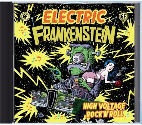 "Image of Electric Frankenstein ""High Voltage Rock n' Roll"" CD  (""BEST OF CD"")"
