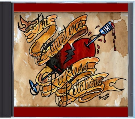 """Image of The Adjusters """"Reckless Relations"""" CD"""