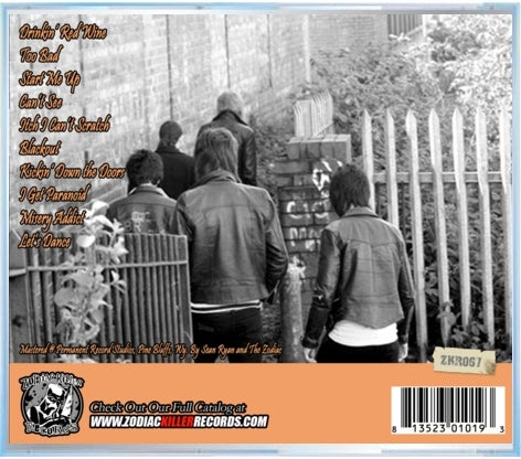 "Image of The Adjusters ""Reckless Relations"" CD"