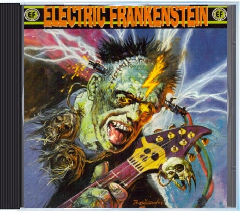 "Image of Electric Frankenstein ""Burn Bright, Burn Fast"" CD"