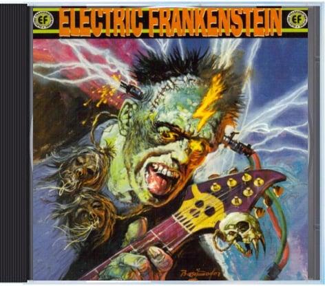 "Image of Electric Frankenstein ""Burn Bright, Burn Fast"" CD"