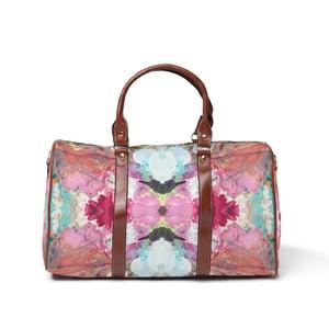Image of Pink Floral Weekender
