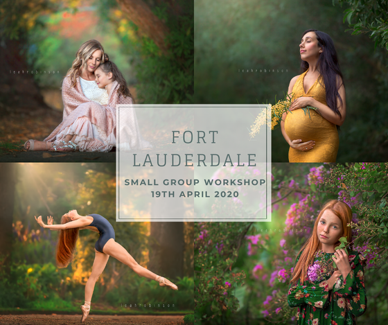 Image of Florida Small Group Workshop with Leah | 19th April '20