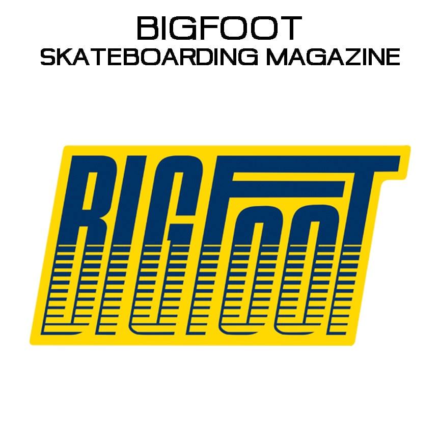Image of BIGFOOT Skateboarding Magazine Pin