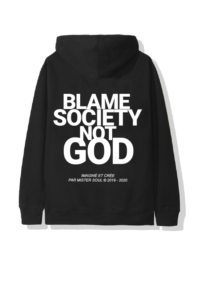 Image of BSNG CLASSIC BLACK HOODIE